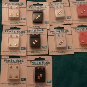 Piercing Stubs (Lot) of 10